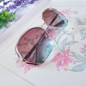 Rocawear Big Sunglasses Mauve Arms Rose Lenses